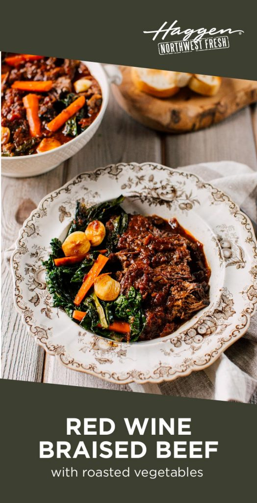 Slow Cooker Red Wine Braised Beef