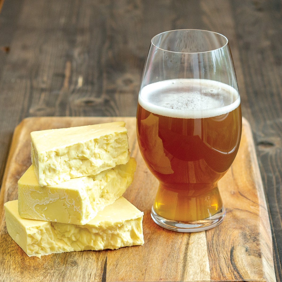 English Cheese & Beer Pairings